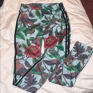 Adidas tropical track suit pants